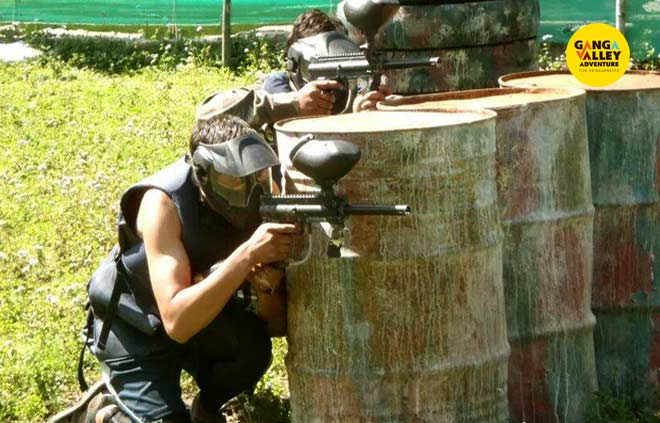 Paint Ball in RIshikesh
